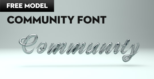 Community Font | My gift to you