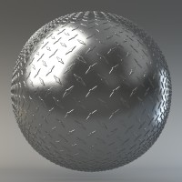 0024 - Diamond Metal Plate