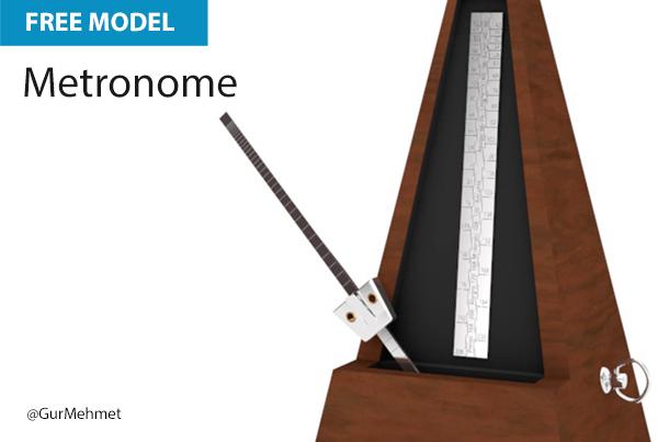 Free Cinema 4D Model | Metronome