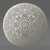 Vintage Lace VRay Material