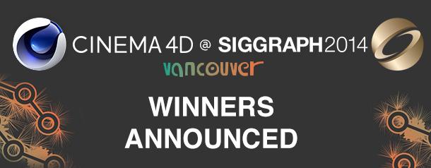 Siggraph 2014 – C4dlive winners
