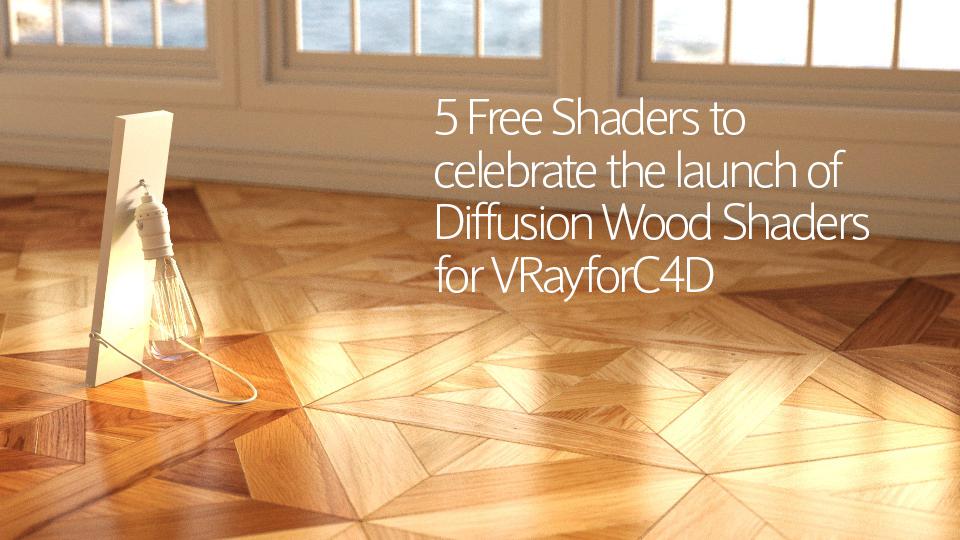 Diffusion Designer Wood Shaders EP – Free Shaders