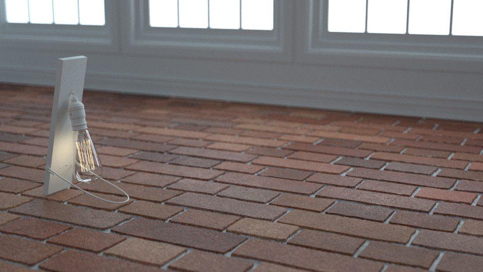 Bricks Cross Bond (0043) - Dusk