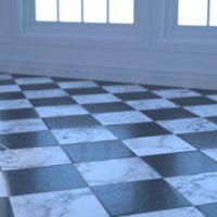 Black & White Marble (0063) – Overcast
