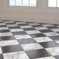 Black & White Marble (0063) – Sunlight