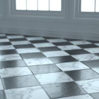 Black & White Marble (0063) – Dusk