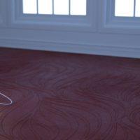 Wavy Textured Wallpaper (0079) – Overcast
