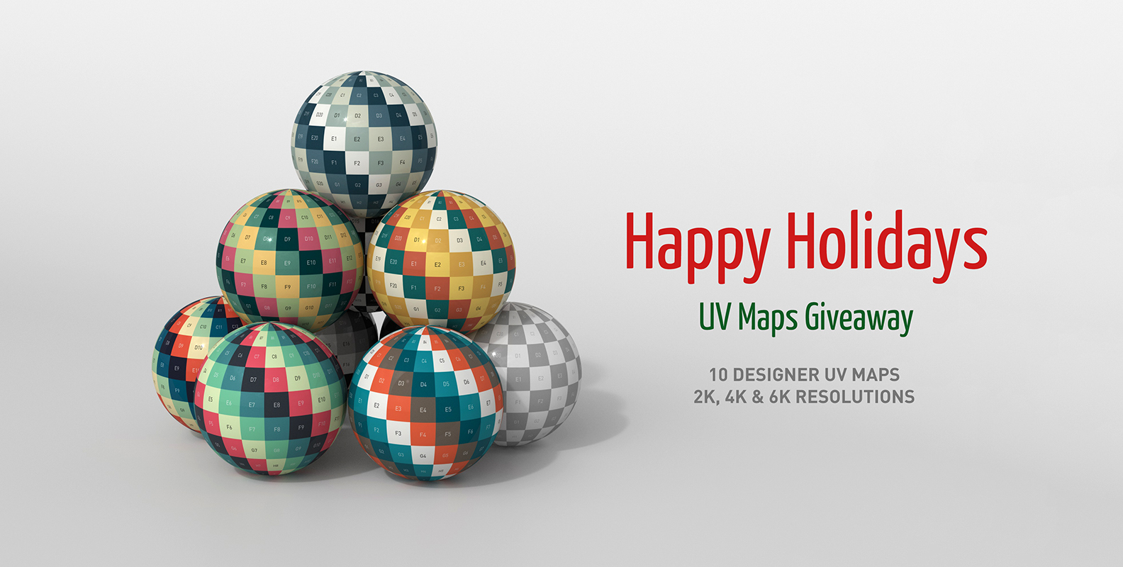 Happy Holidays – UV Maps Giveaway